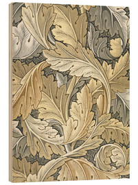 Holzbild  Akanthus - William Morris