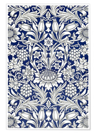 Premium-Poster  Sonnenblume - William Morris