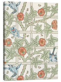 Leinwandbild  Gitter - William Morris