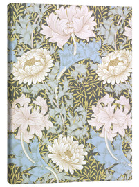 Leinwandbild  Chrysantheme - William Morris