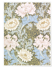 Premium-Poster  Chrysantheme - William Morris