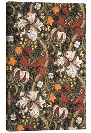 Leinwandbild  Goldene Lilie - William Morris