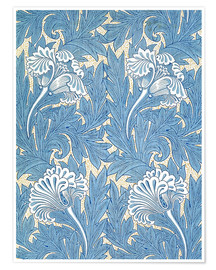 Premium-Poster  Tulpen - William Morris