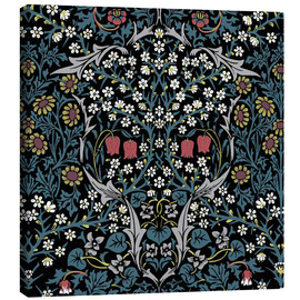 Leinwandbild  Schwarzdorn - William Morris
