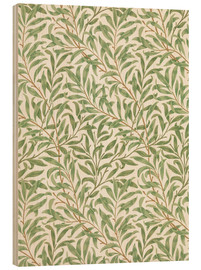 Holzbild  Weide - William Morris