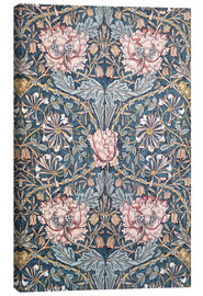 Leinwandbild  Geißblatt - William Morris