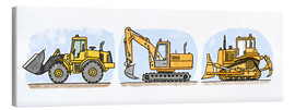 Hugos Illustrations - Hugos Baustelle 3-er Set