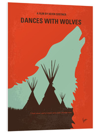 Hartschaumbild  Dances With Wolves - chungkong