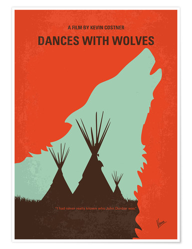 Premium-Poster Dances With Wolves