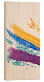 Holzbild  JSFStudios Waves of Washi 01 - Jan Sullivan Fowler