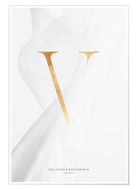 Premium-Poster GOLD LETTER COLLECTION V