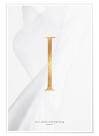 Premium-Poster GOLD LETTER COLLECTION I