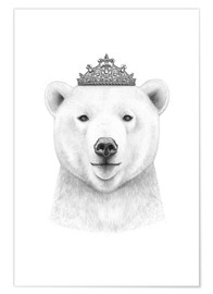 Premium-Poster Queen polar bear