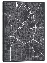 Main Street Maps - Los Angeles USA Karte