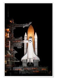 Premium-Poster  Space Shuttle Atlantis - Stocktrek Images