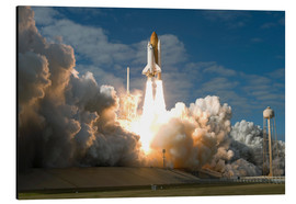 Alubild  Space Shuttle Atlantis hebt ab - Stocktrek Images