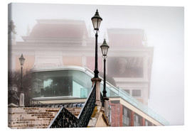 Leinwandbild  Nebel in Lissabon - VIEW Pictures