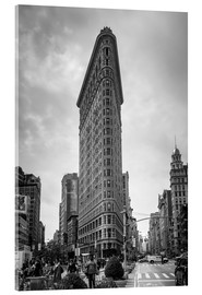 Acrylglasbild  Flatiron building in New York City - Axiom RF