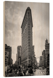 Holzbild  Flatiron building in New York City - Axiom RF
