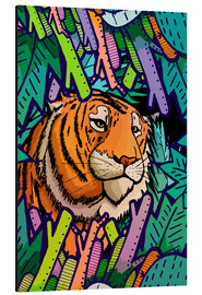 Stephen Wade - Tiger in the undergrowth