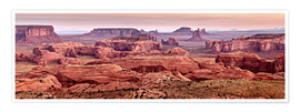Premium-Poster  Monument Valley Navajo Tribal Park - Ann Collins