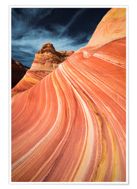 Premium-Poster Die Welle im Coyote Buttes