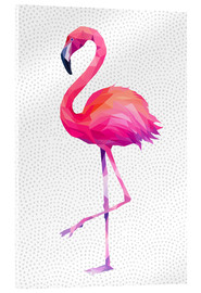Acrylglasbild  Flamingo 1 - Miss Coopers Lounge