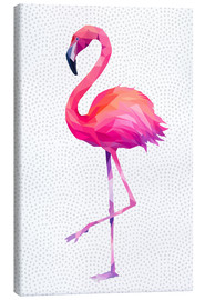 Leinwandbild  Flamingo 1 - Miss Coopers Lounge