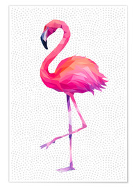 Premium-Poster  Flamingo 1 - Miss Coopers Lounge