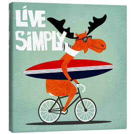Leinwandbild  gaby jungkeit live simply - coico