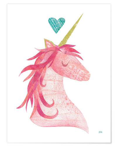 Premium-Poster Unicorn Magic I
