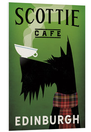 Hartschaumbild  Scottie Cafe - Ryan Fowler