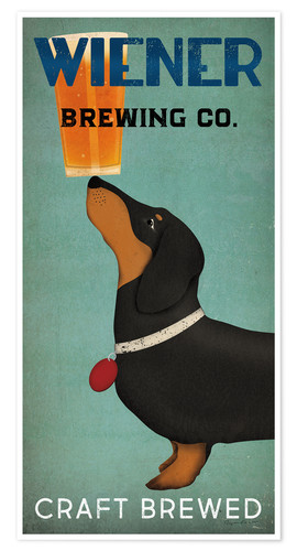 Premium-Poster Wiener Brewing Co.