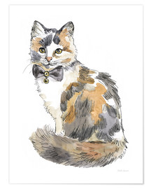 Premium-Poster Fancy Cats II