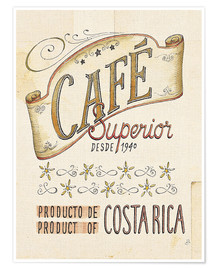 Premium-Poster Authentic Coffee VIII