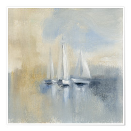 Premium-Poster Morning Sail I