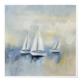 Premium-Poster Morning Sail II