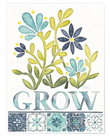 Premium-Poster  Grow - Laura Marshall