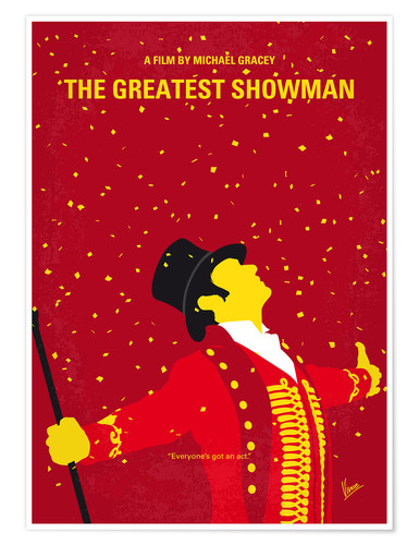 Premium-Poster The Greatest Showman