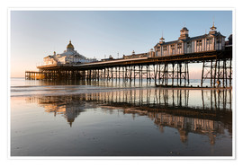Premium-Poster Eastbourne Pier at sunrise, East Sussex