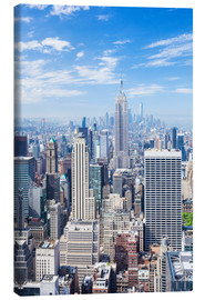 Leinwandbild  Manhattan Skyline in New York - Neale Clarke