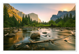 Premium-Poster Valley View - Yosemite National Park