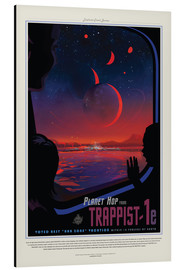 Alubild  Retro Space Travel ? Trappist-1e