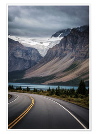 Premium-Poster Icefields Parkway