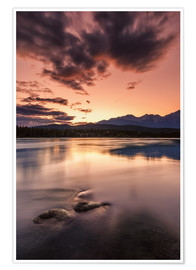 Premium-Poster  Fire in the sky - Andreas Kossmann