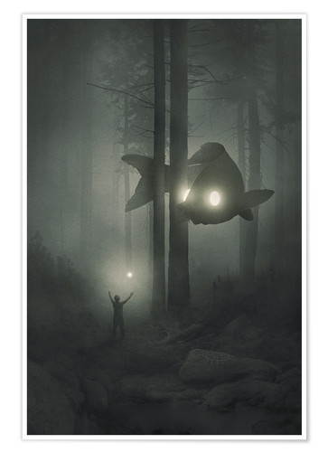 Premium-Poster Deep Forest