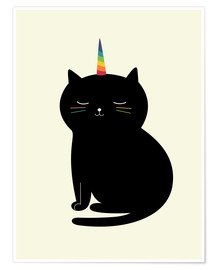 Premium-Poster  Caticorn - Andy Westface