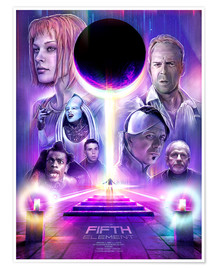Premium-Poster  The Fifth Element - Barrett Biggers