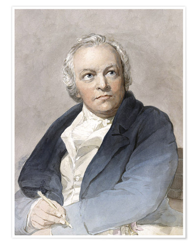 Premium-Poster William Blake