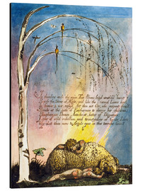 Alubild  Amerika eine Prophezeiung  - William Blake